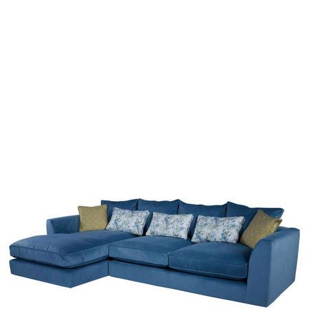 Bossanova Left-hand Large Chaise Sofa