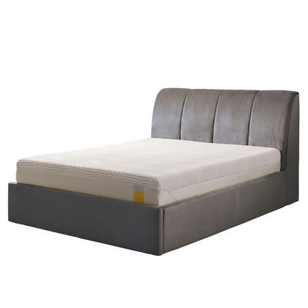 Harrington Ottoman Bedstead Tweed Grey