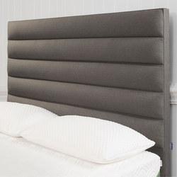 Moulton Panelled Headboard Tweed Grey