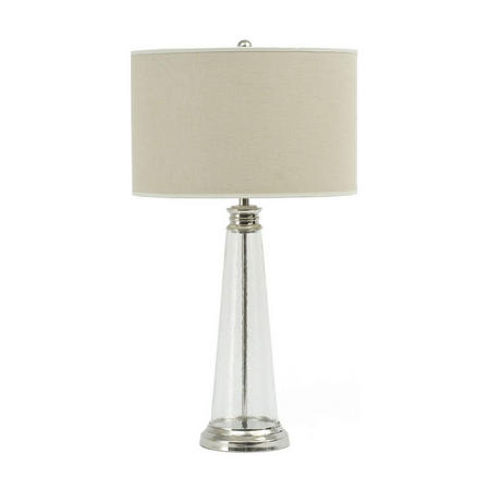 Regal Glass Table Lamp Clear