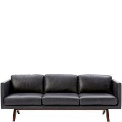 Brooklyn Leather Sofa 205 cm