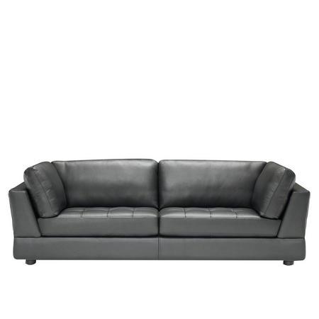 Massimo 2-Seater Sofa Black