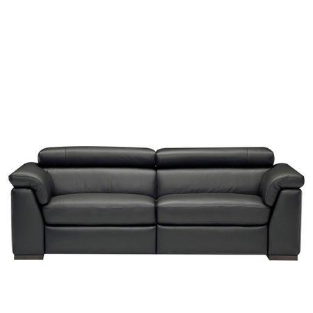 B634 Tommaso Large Leather Sofa