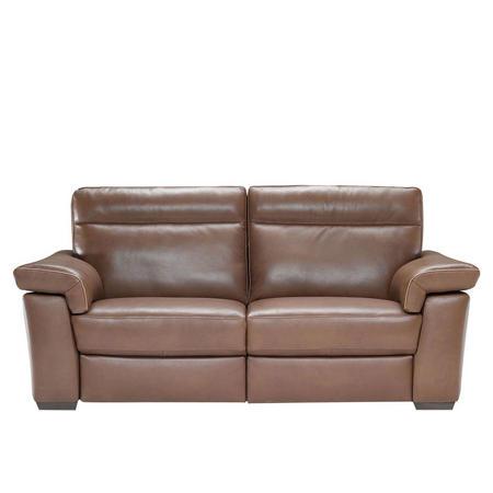 Fantastisch B757 Brivido Medium Leather Sofa