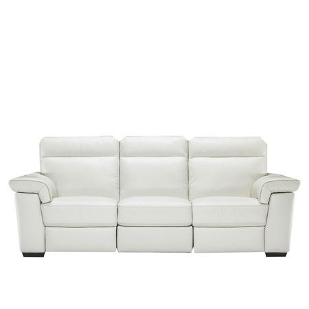B757 Brivido Large Leather Sofa With Two Power Recliners
