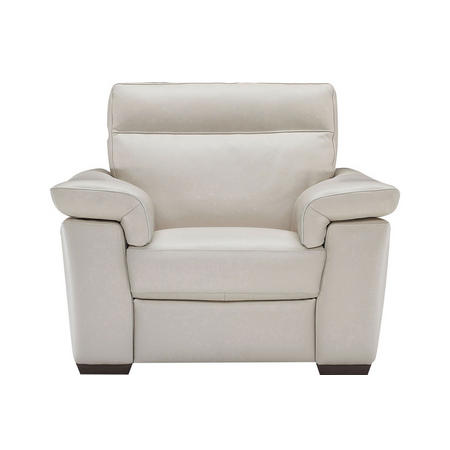 B757 Brivido Large Armchair With Power Recliner Leather