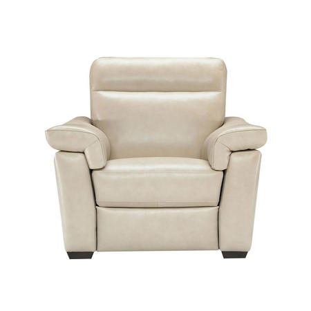 B757 Brivido Large Leather Armchair With Power Recliner