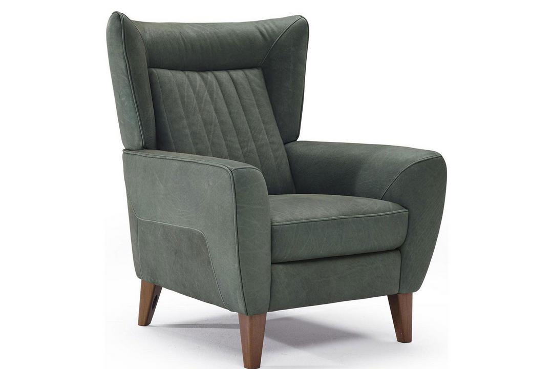 B930 Erica Leather Armchair 25TE