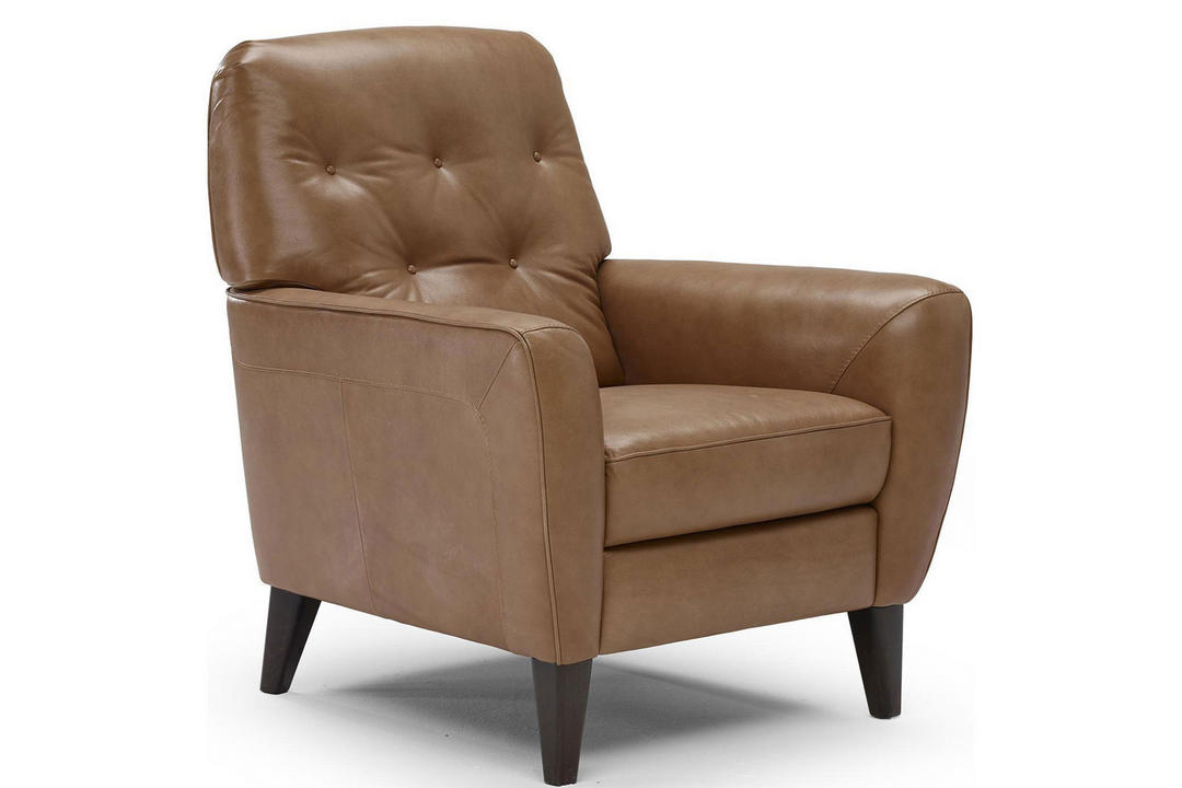 B932 Bari Leather Armchair