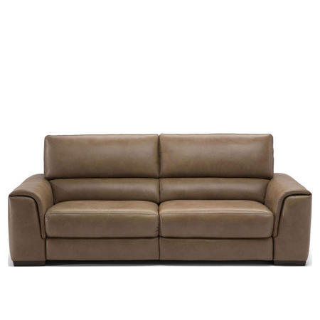 B969 Ozio Leather Sofa With Two Power Recliners