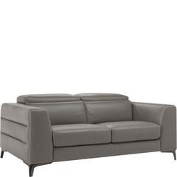 B979 Orgoglio Leather Sofa 10BK