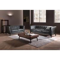 B988 Piacere Large Leather Sofa 20JE