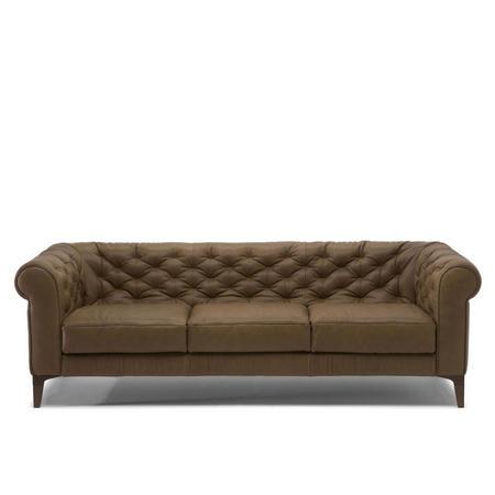 C005 Romantico Large Leather Sofa 15WM