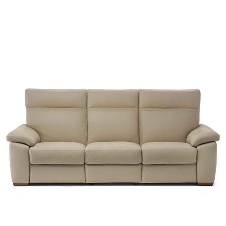 C007 Empatia Large Leather Sofa 10BL