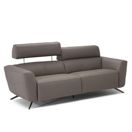 C013 Sorpresa Leather Sofa With Recliners 15D1