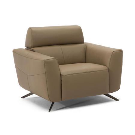 C013 Sorpresa Leather Armchair With Recliner 10BG