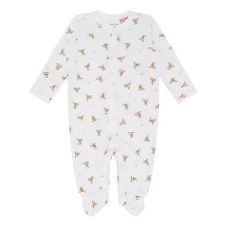 Baby Bear Print Romper Suit
