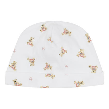 Baby Bear Print Beanie Hat