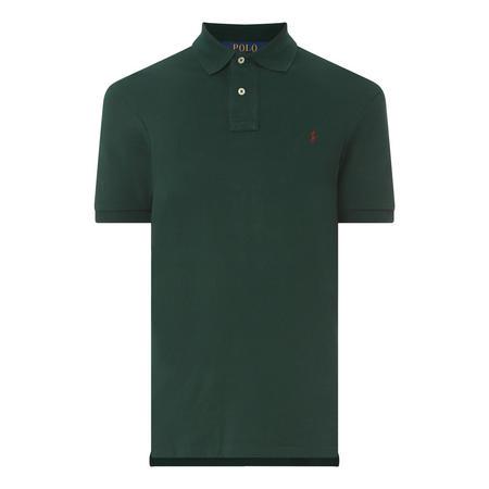 Custom Mesh Slim Polo Shirt