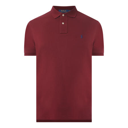 Custom Mesh Slim Polo Shirt