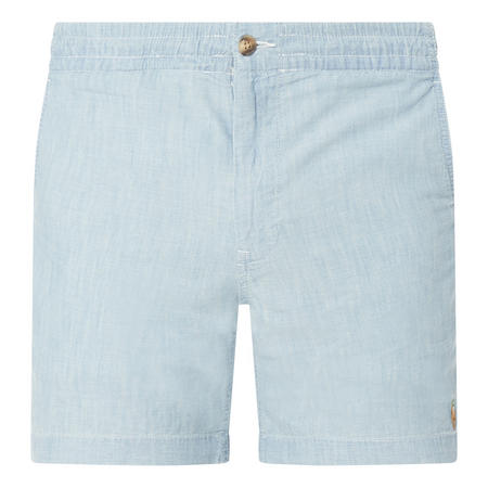 Logo Chambray Shorts