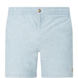 Logo Chambray Shorts