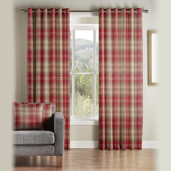 Kirkwall Curtains Red