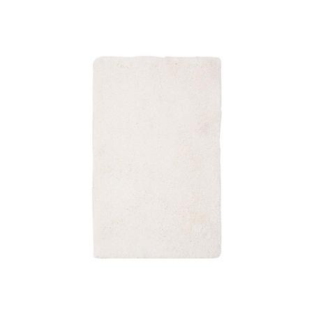 Cozy Plush Rug White