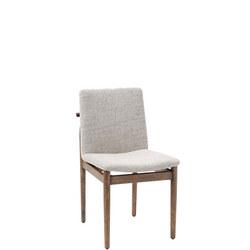 Framework Dining Chair Stone Twill/Walnut