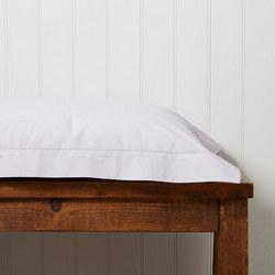 200 Plain Dye Oxford Square Pillowcase Heather