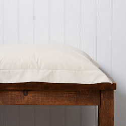 200 Plain Dye Oxford Square Pillowcase Parchment