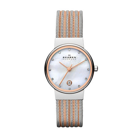 Ladies Ancher Watch Silver