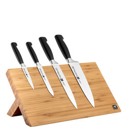 Four Star Five-Piece Knife Block