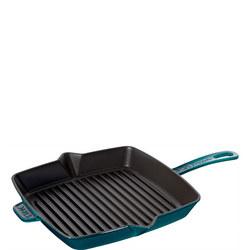 La Mer Cast Iron Grill Pan 26x26cm