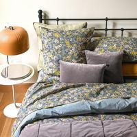 Oriane Ardoise Flat Sheet Multicolour