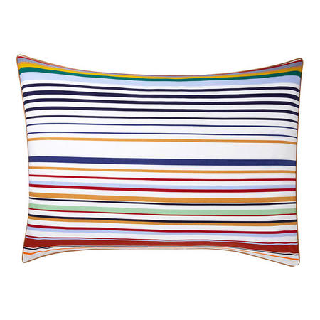 Antonio  Standard Oxford Pillowcase Multi Colour