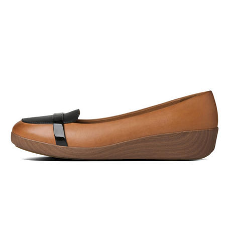 F-Pop™ Loafer Leather Shoe Tan