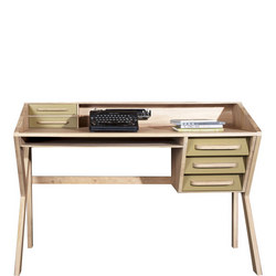 Origami 45021 5 Drawer Desk Olive