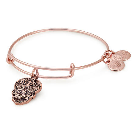 Calavera Shiney Rose Bangle