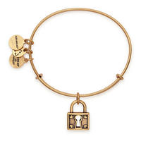 Unbreakable Love Charm Bangle Gold