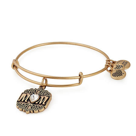 Mom Charm Bangle Gold