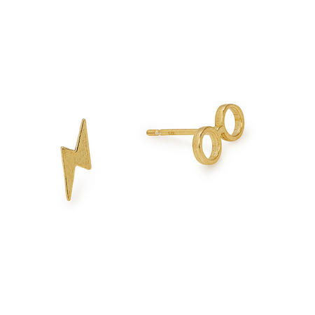 Harry Potter Glasses Earrings Gold