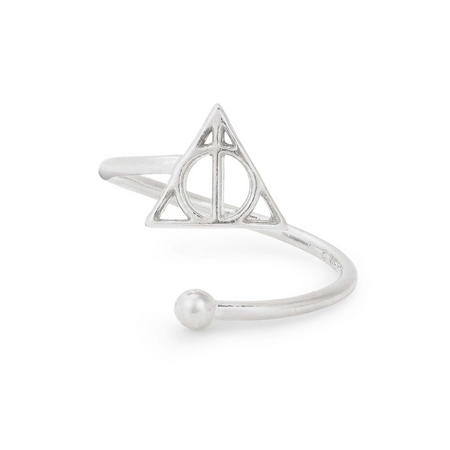 Harry Potter Deathly Hallows Ring Wrap Silver