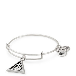 Harry Potter Deathly Hallows Charm Bangle Silver