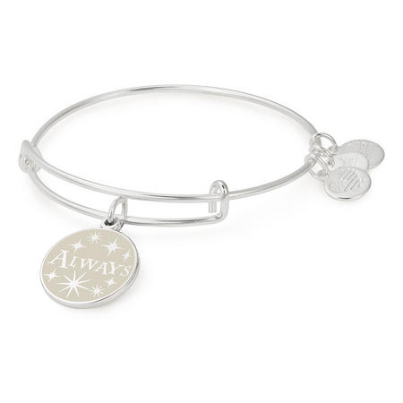 Harry Potter Always Charm Bangle Silver