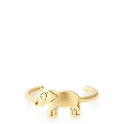 Elephant Adjustable Ring