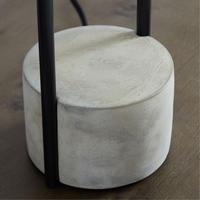 Industrial Outline Floor Lamp Dark Bronze