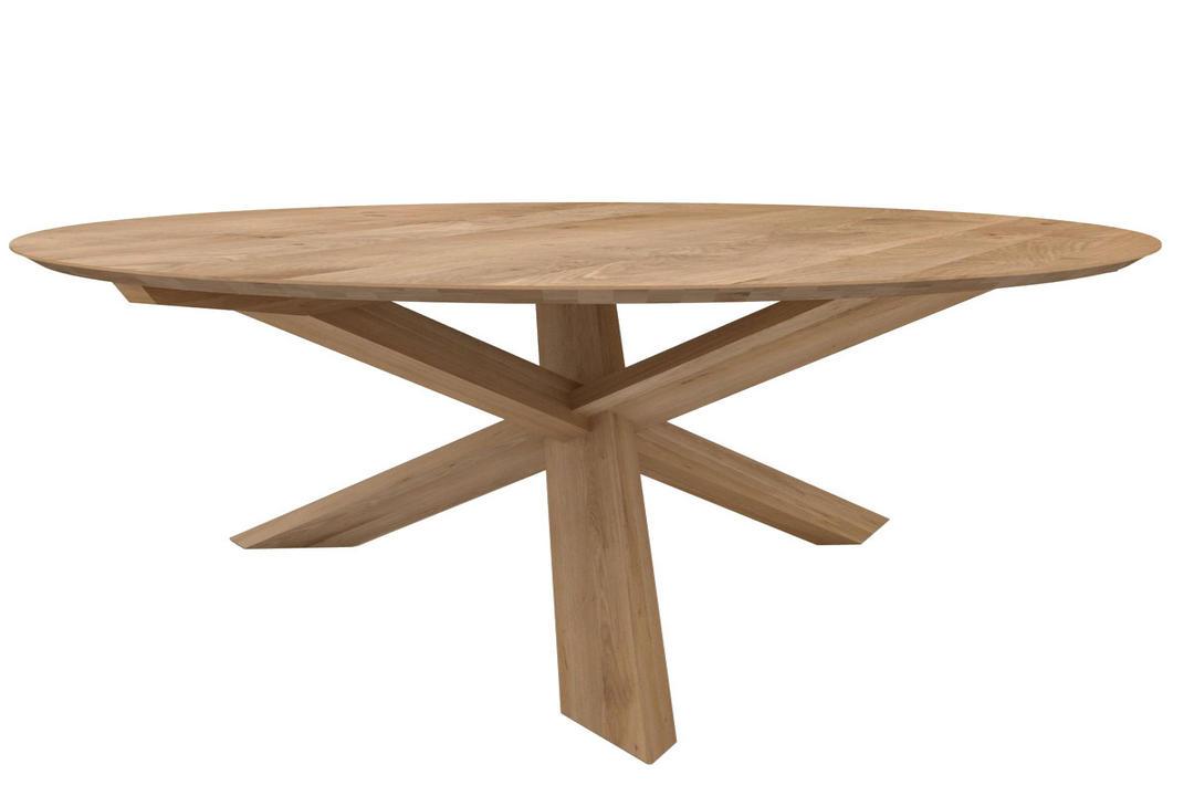 Circle Table Oak