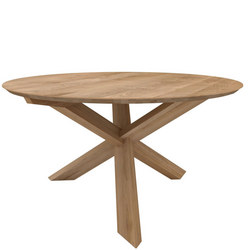 Circle Table Oak