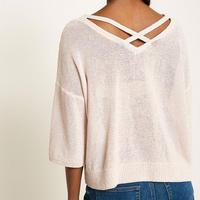 Blossom Metallic Knit